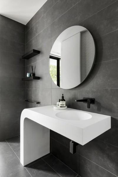 Lustro okrągłe w łazience